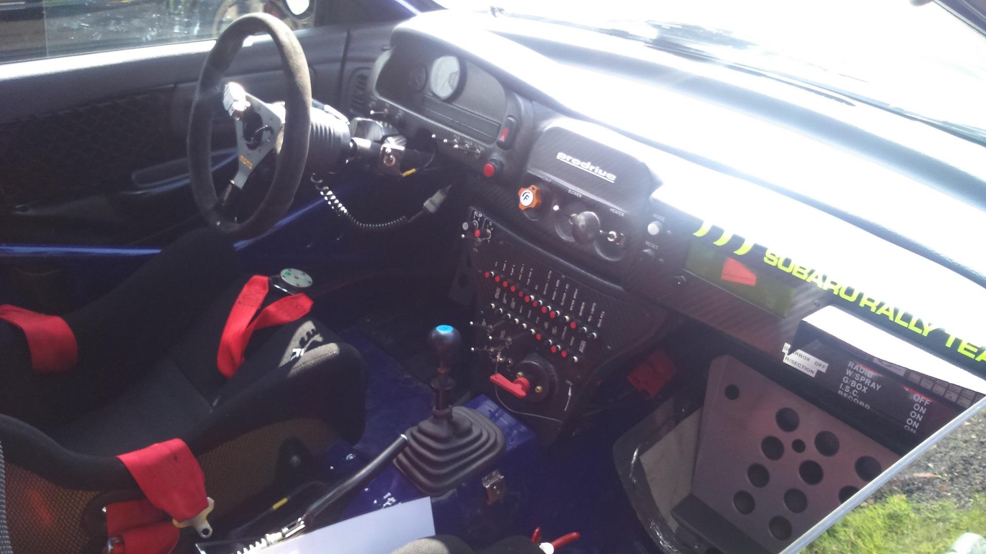 Inside 95 Impreza