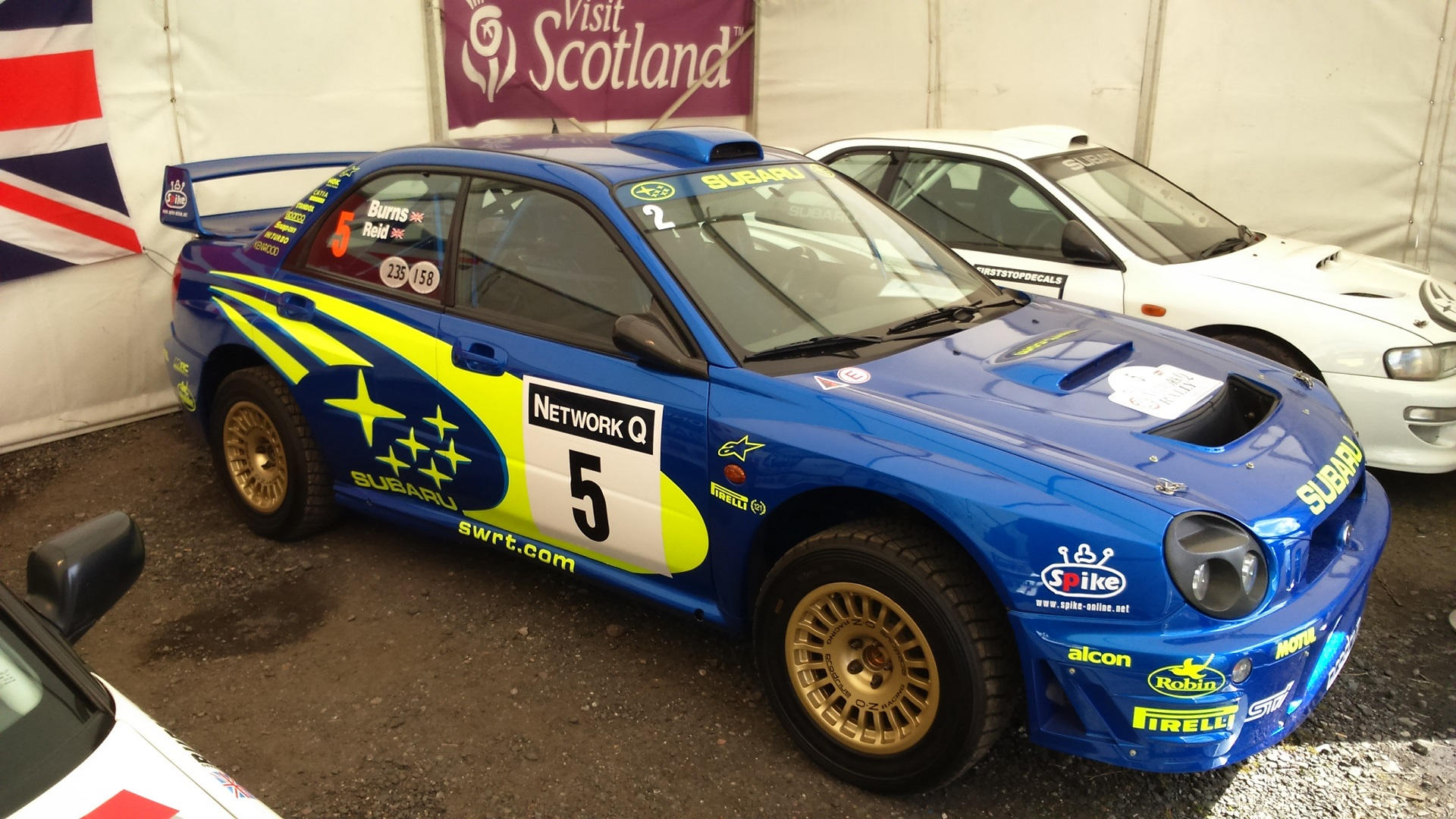 Richard Burns Impreza