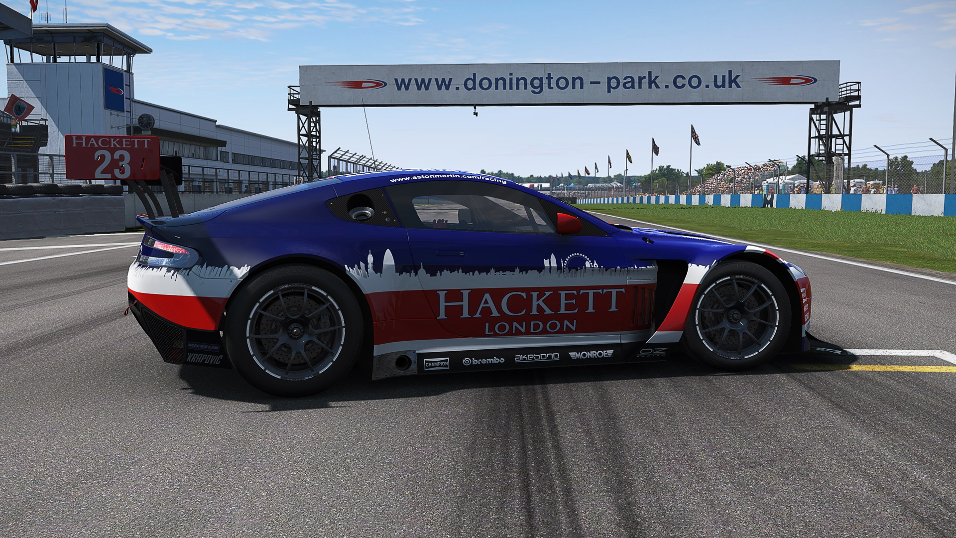 Aston at Donington