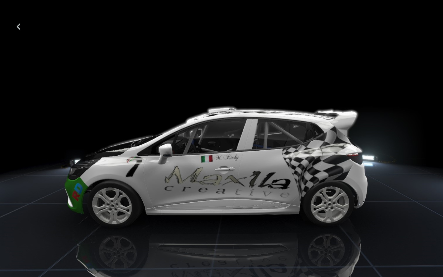 Custom livery Project C.A.R.S.                       Renault clio cup