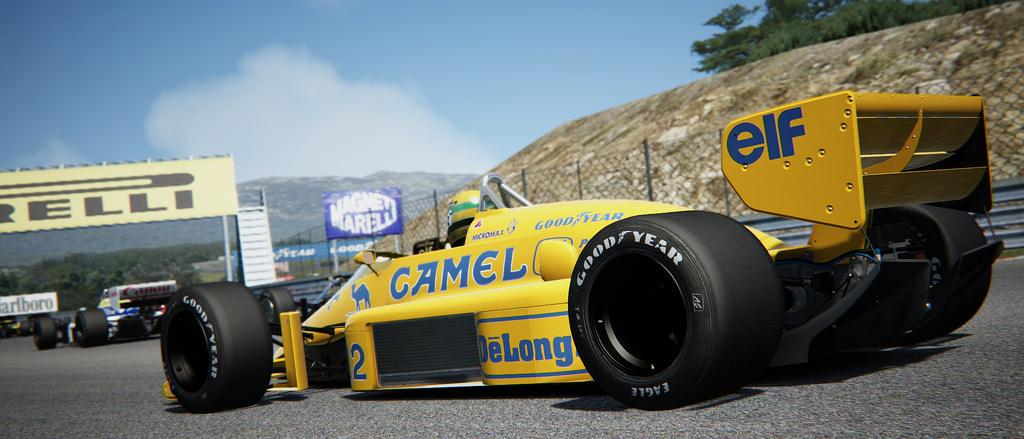 Assetto Corsa Lotus 98T Battle 06