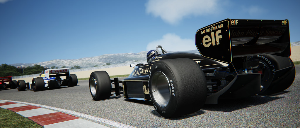 Assetto Corsa Lotus 98T Battle 11