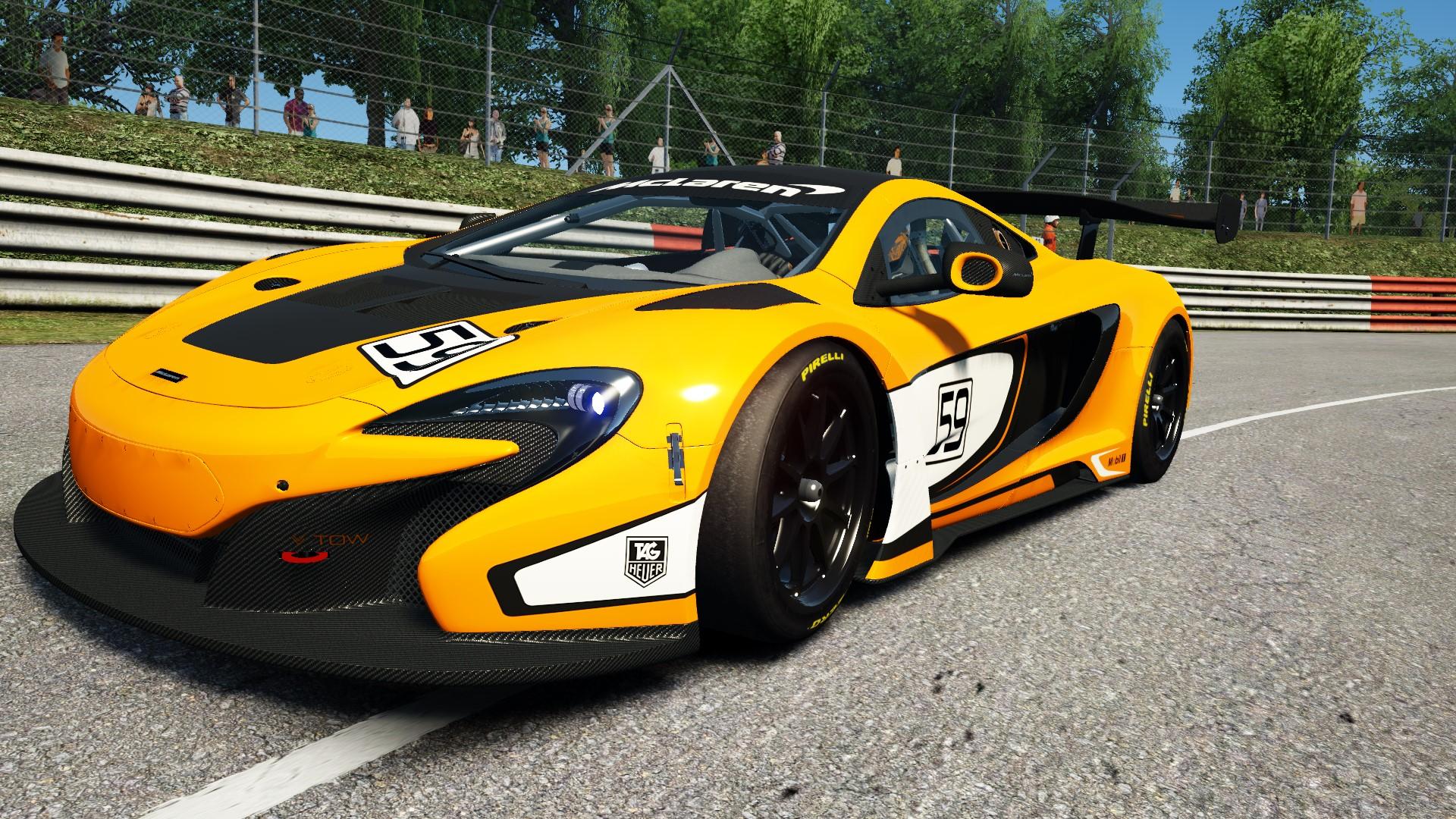 McLaren 650S GT3 @ Nordschleife