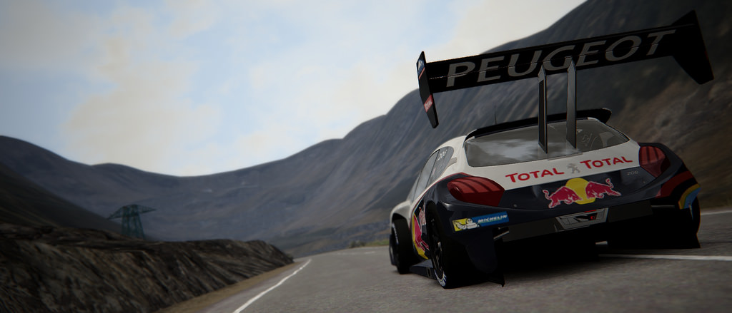 Assetto Corsa - Peugeot 208 T16 Pikes Peak - Transfagarasan North 05