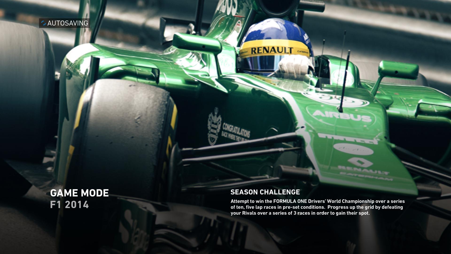 F1 2014 Loading Screen #3