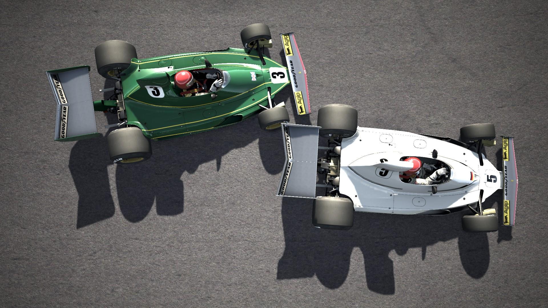 AC I RC I Ferrari 312T @ Silvestone