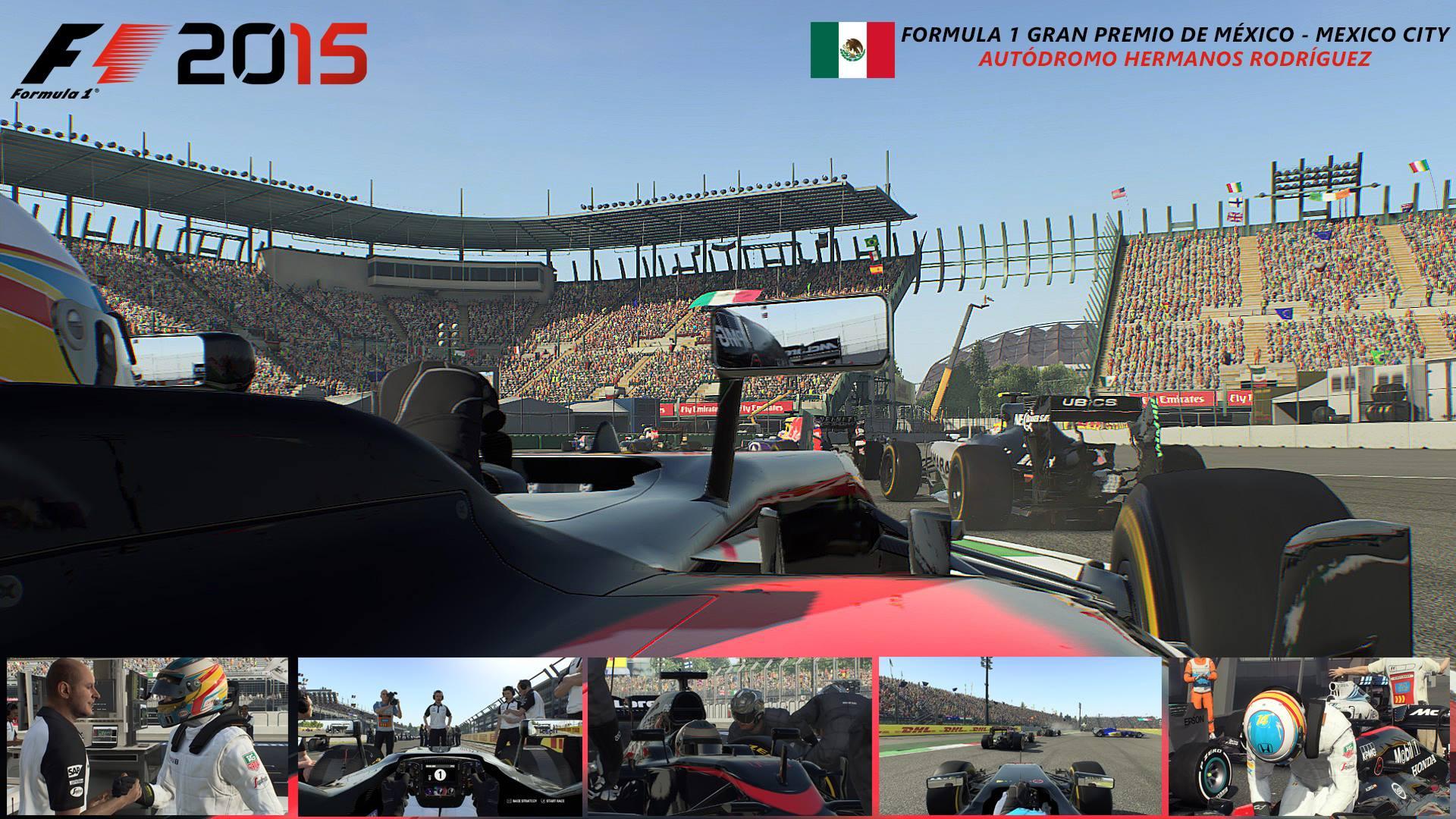 F1 2015 PC Mexican GP - McLaren Honda