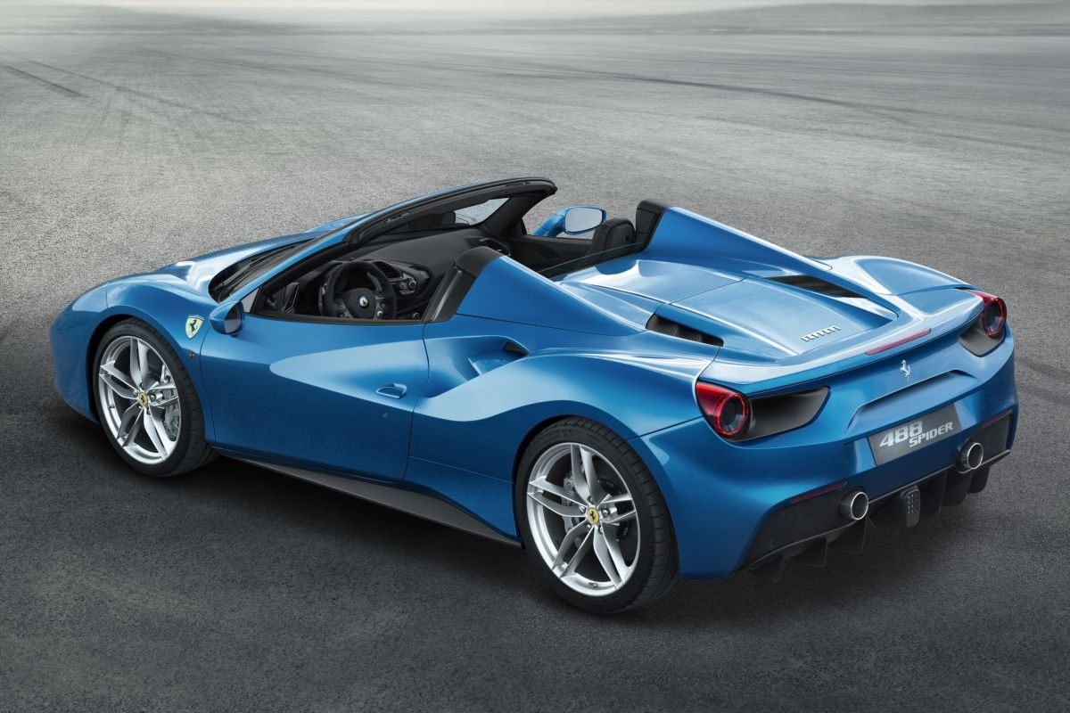 Ferrari 488 Spider (Rear)