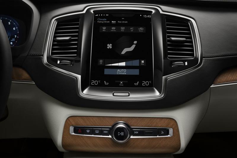 Volvo Touchscreen