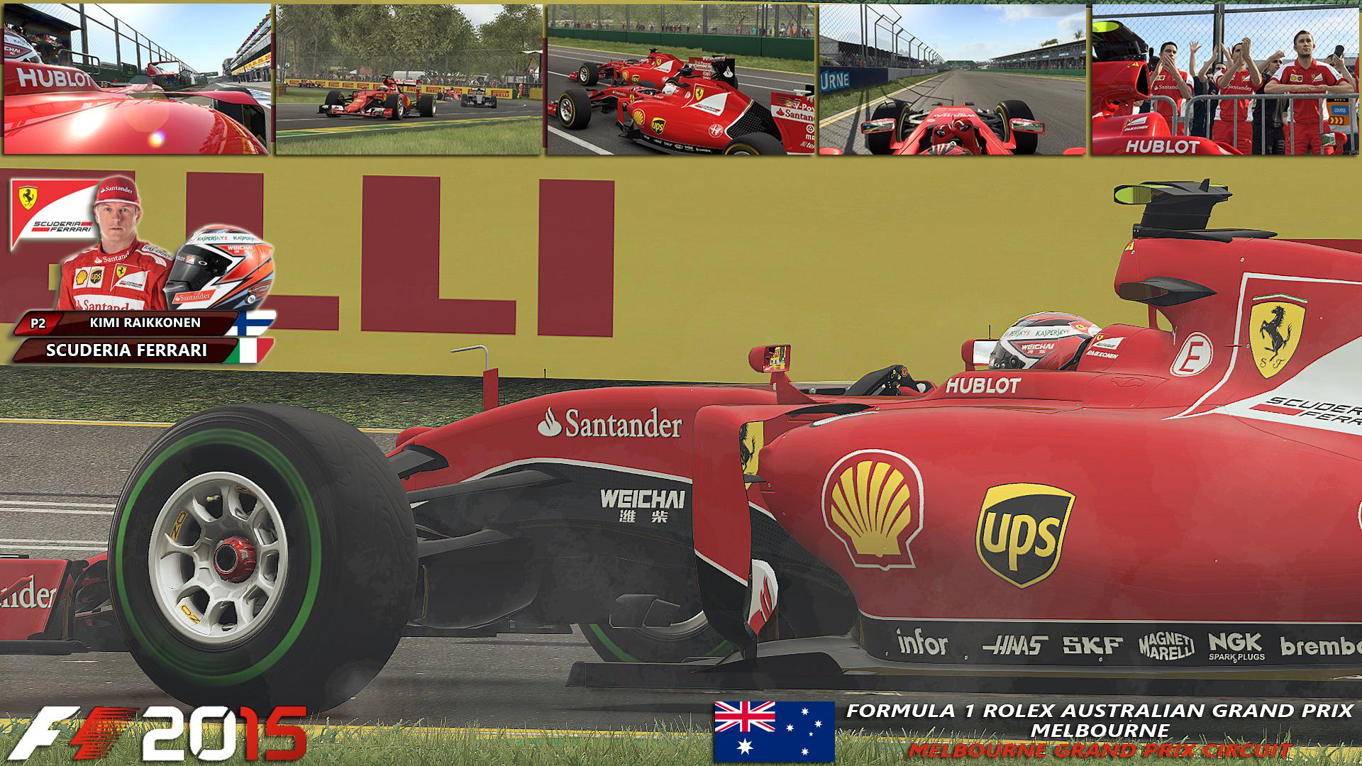Scuderia Ferrari - Melbourne - Kimi Raikkonen