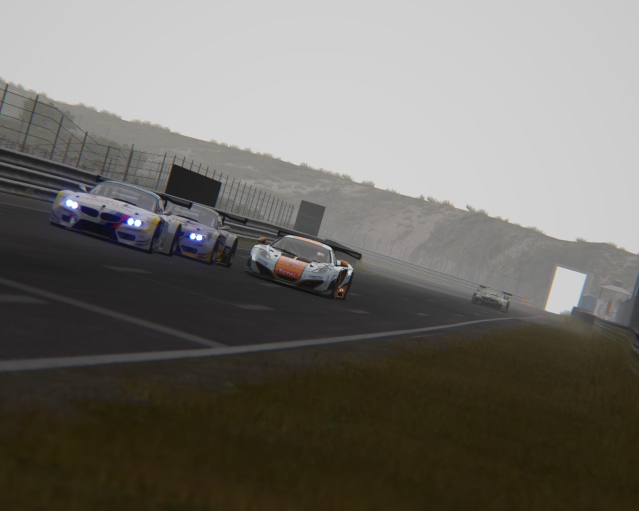 Zandvoort GT3 Drafting 1