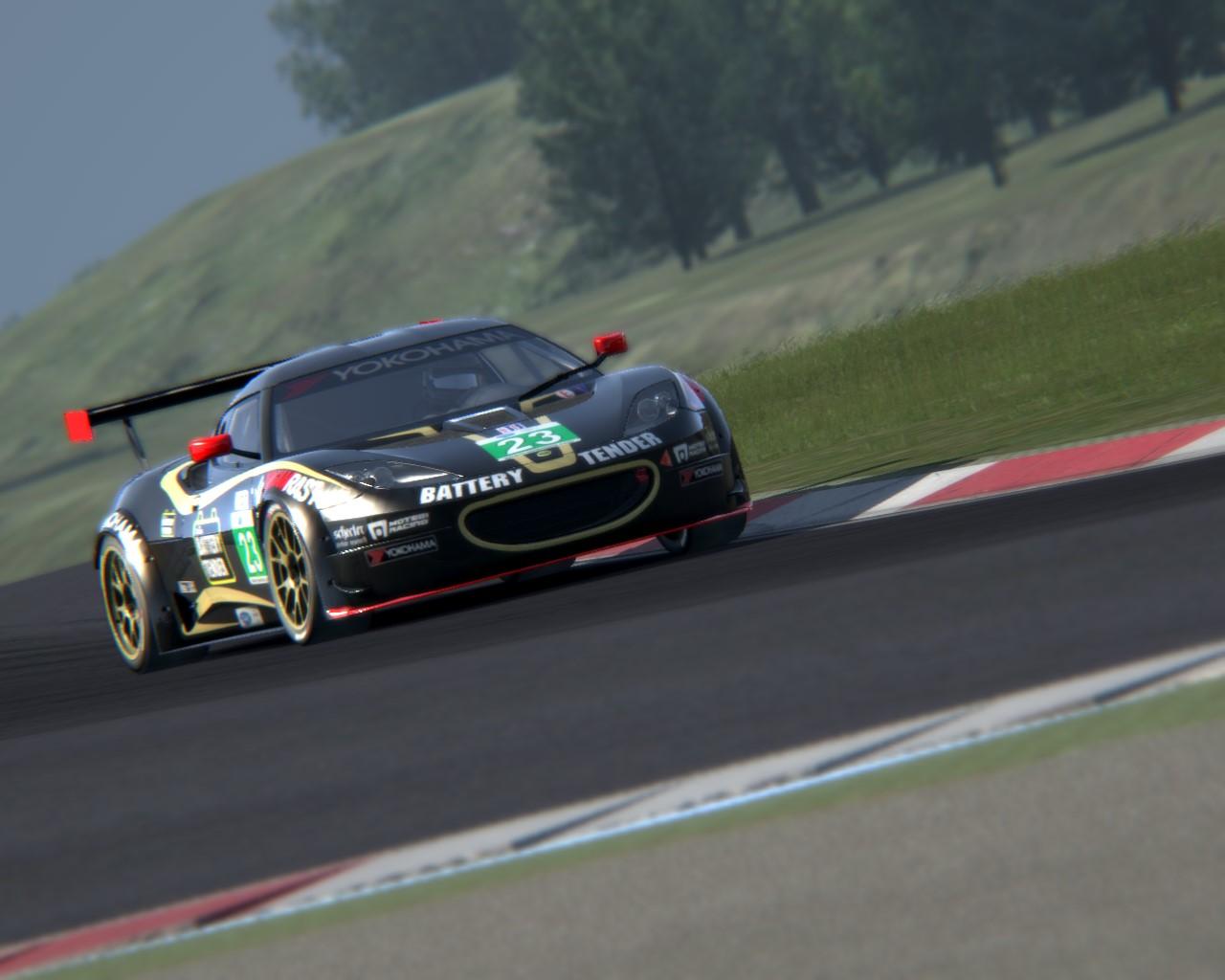 Vallelunga Lotus Evora GTC Track Day 1