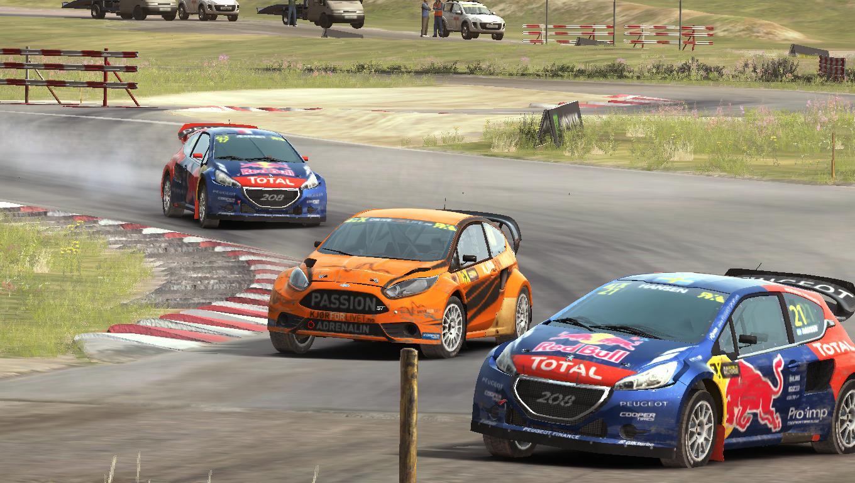 Rallycross Action @ Höljes