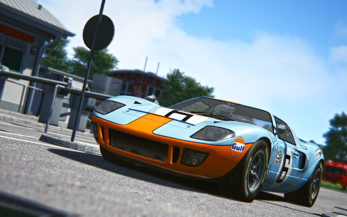 Ford GT40 - Assetto Corsa