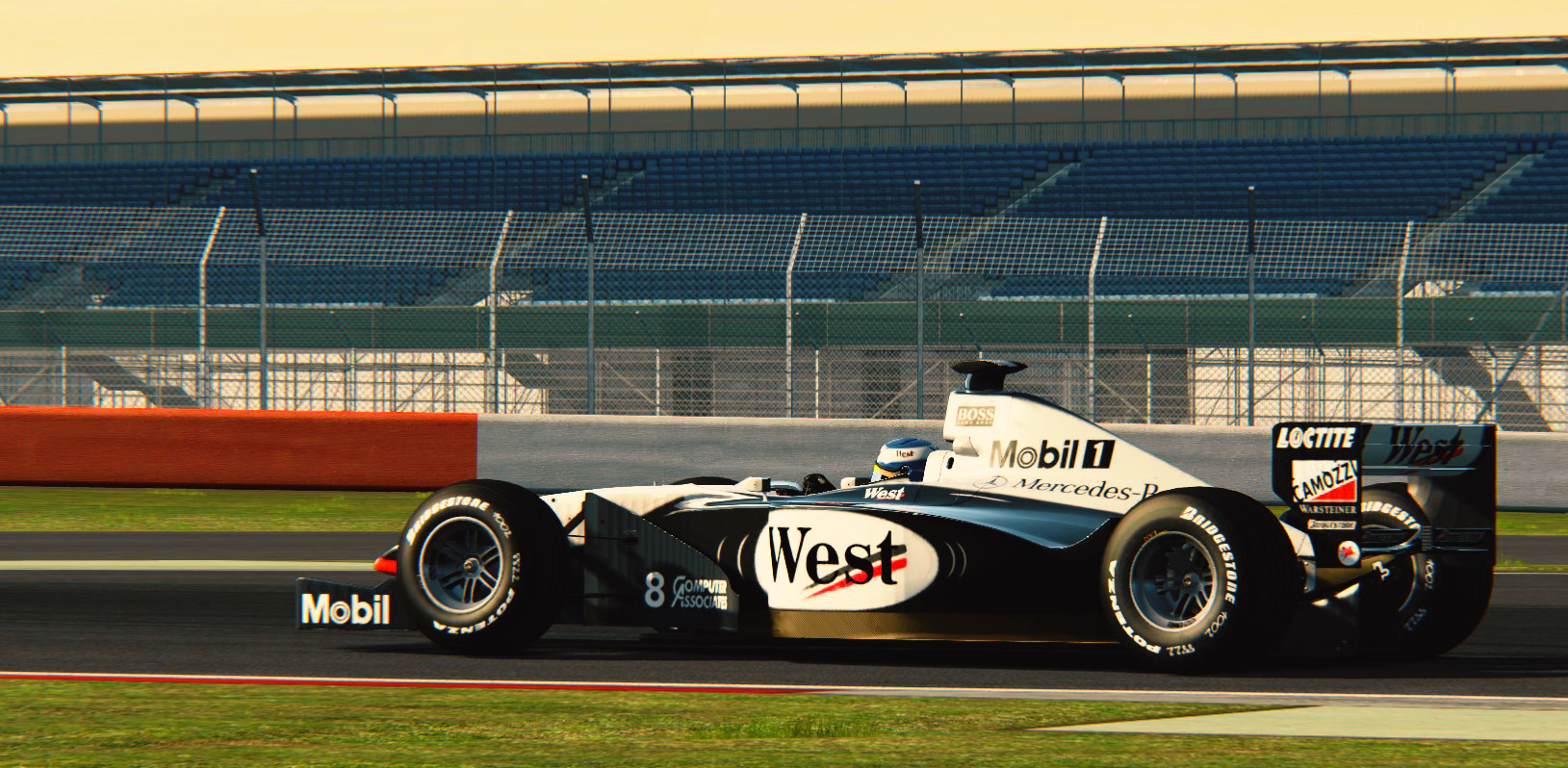 McLaren MP4-13, dusk to dawn