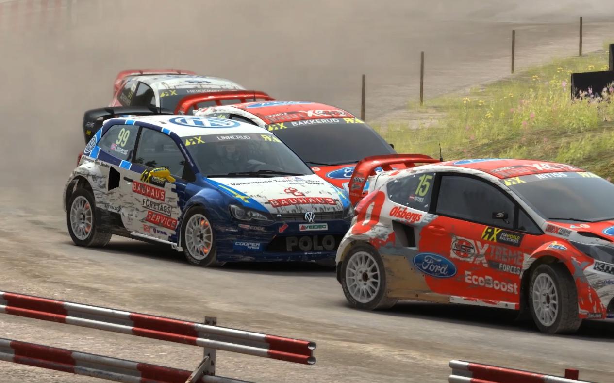 Pack Rallycross