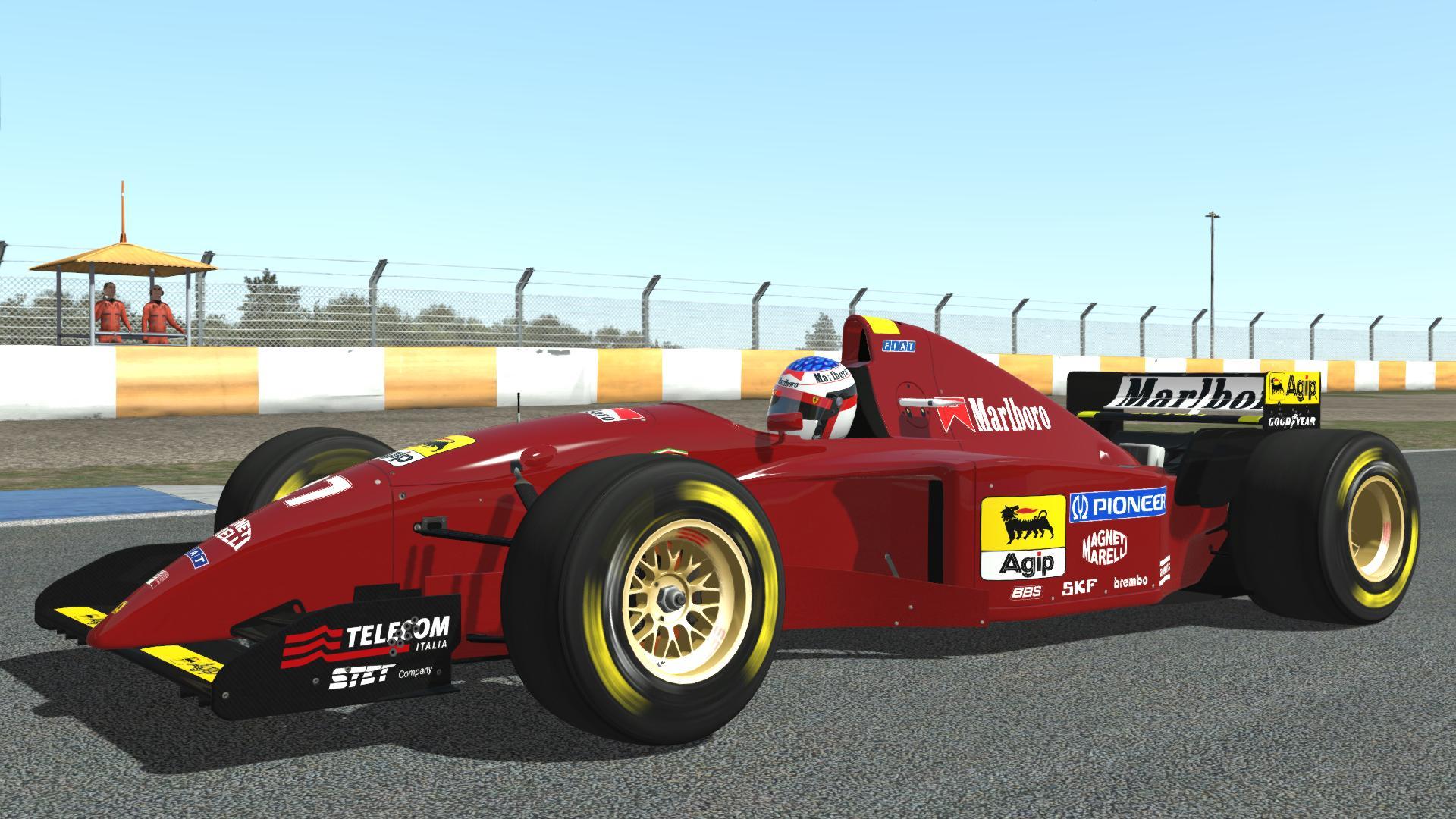 Rfactor 2 Ferrari 412T2 @ Estoril