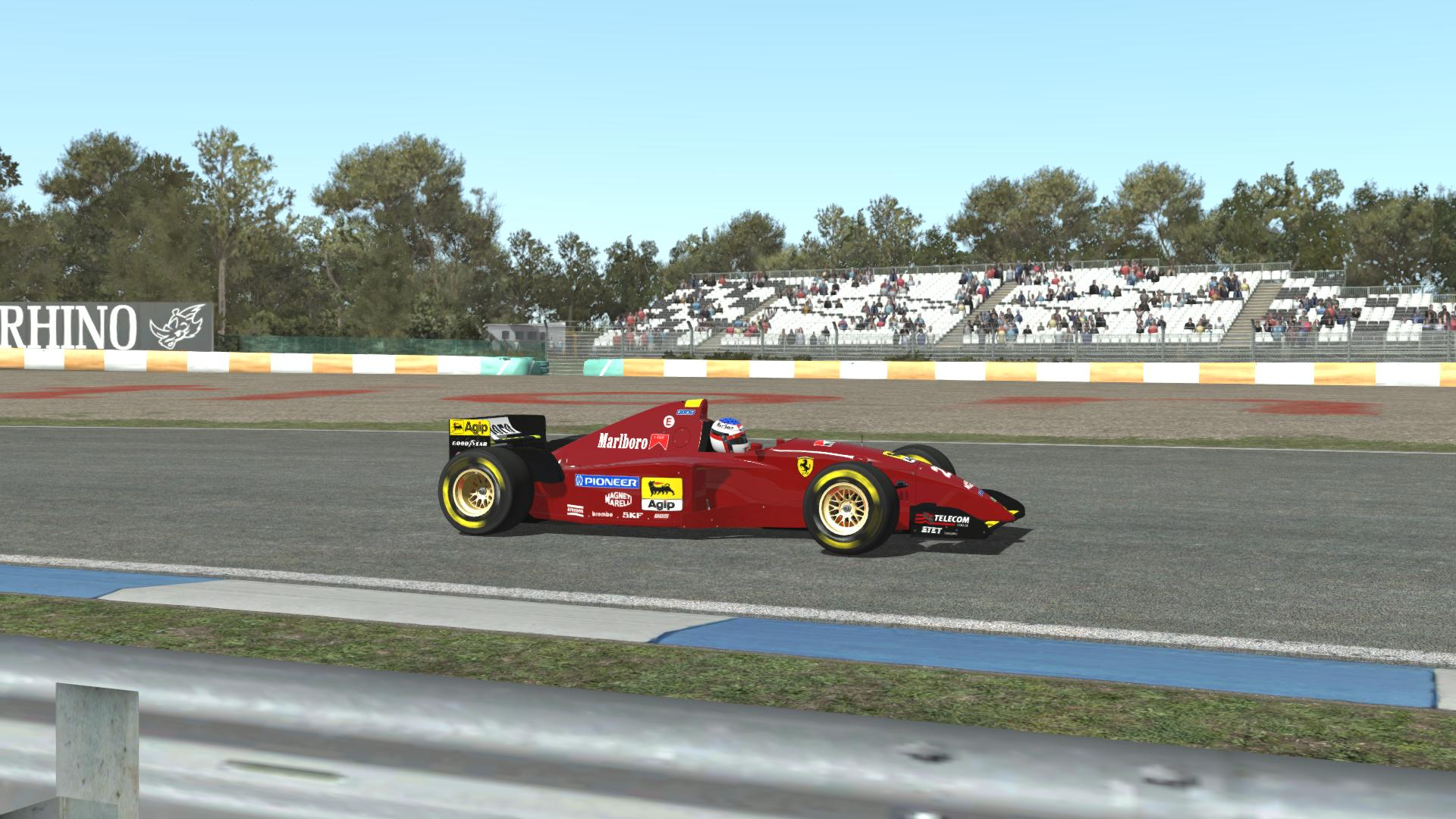 Rfactor 2 Ferrari 412T2 @ Estoril