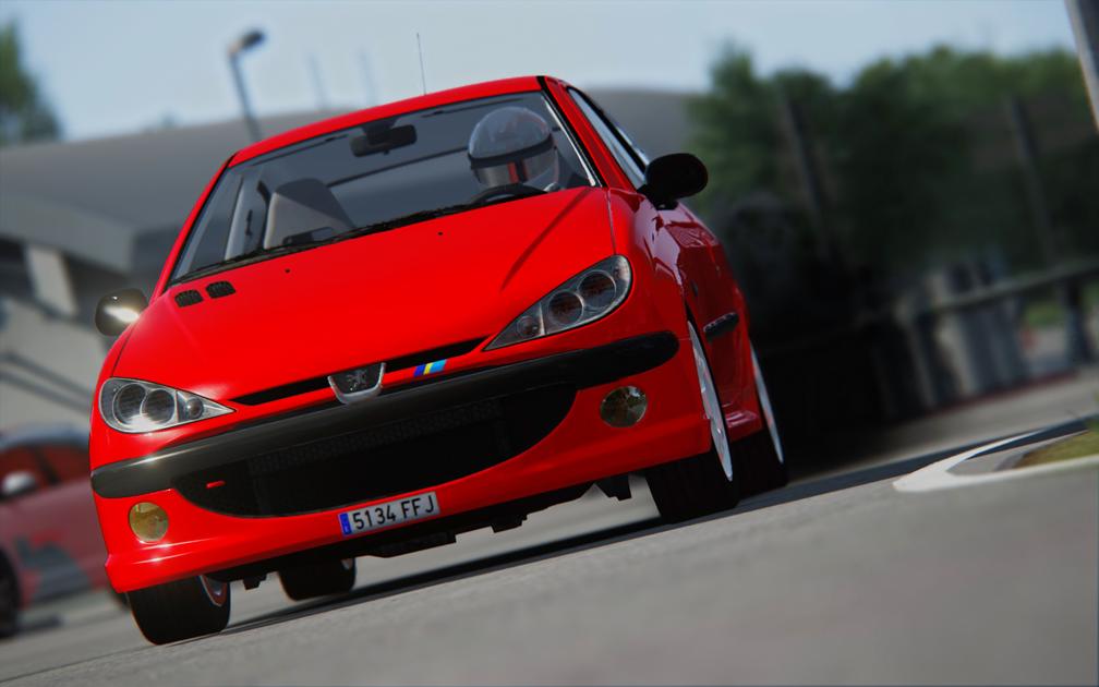 Peugeot 206 Hdi - Assetto Corsa
