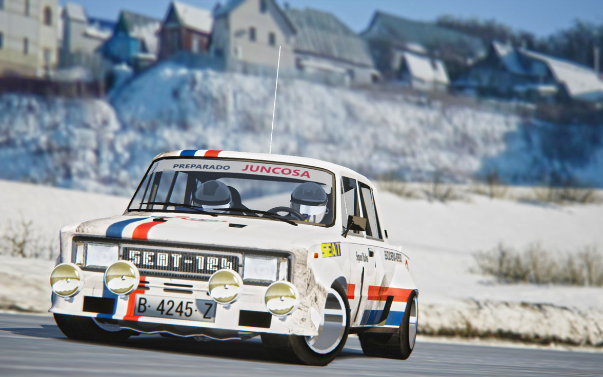 Seat 124 Gr5 - Assetto Corsa