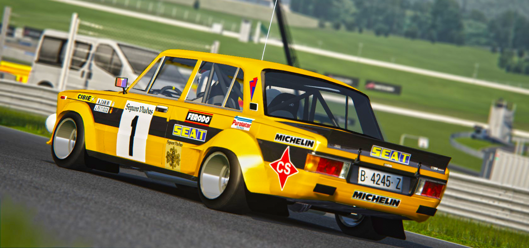Seat 124 Gr5 Assetto Corsa