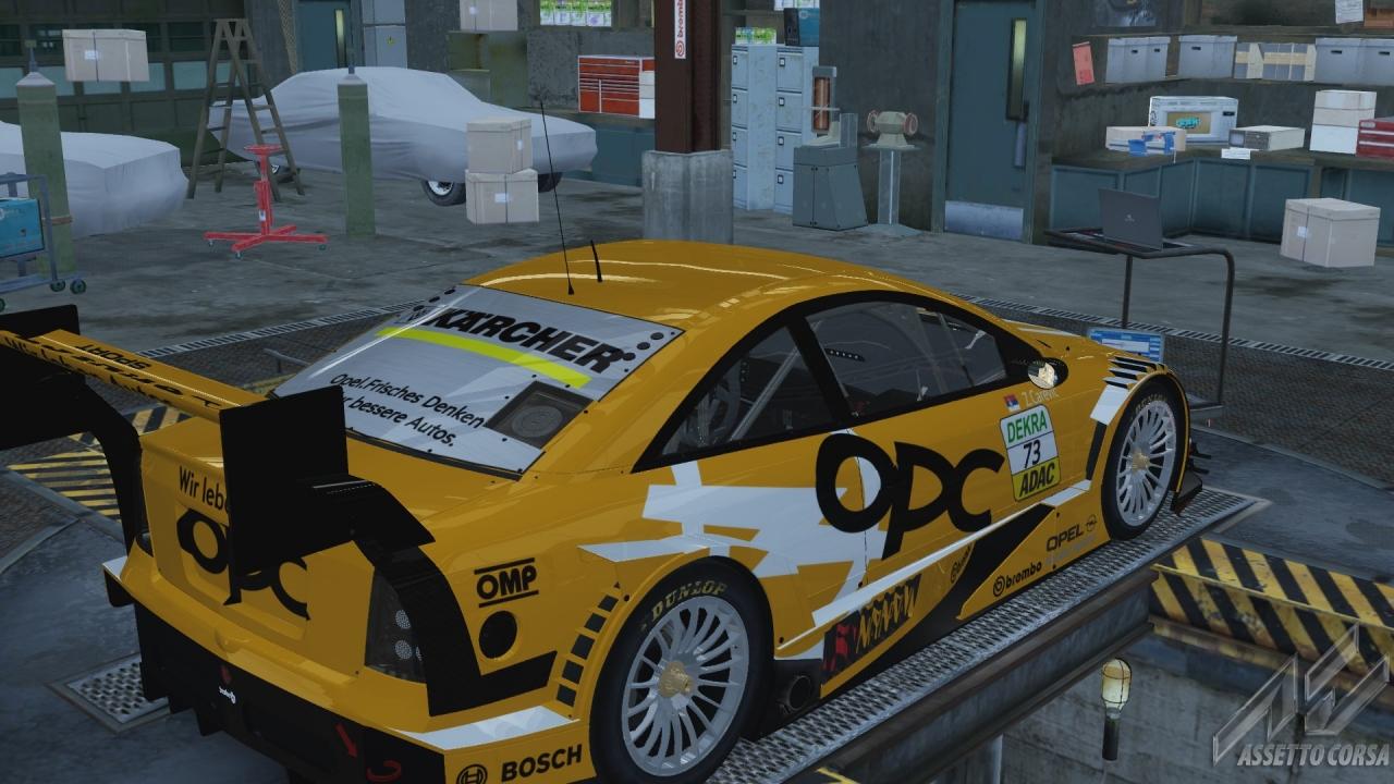 Assetto corsa -ASTRA DTM V8