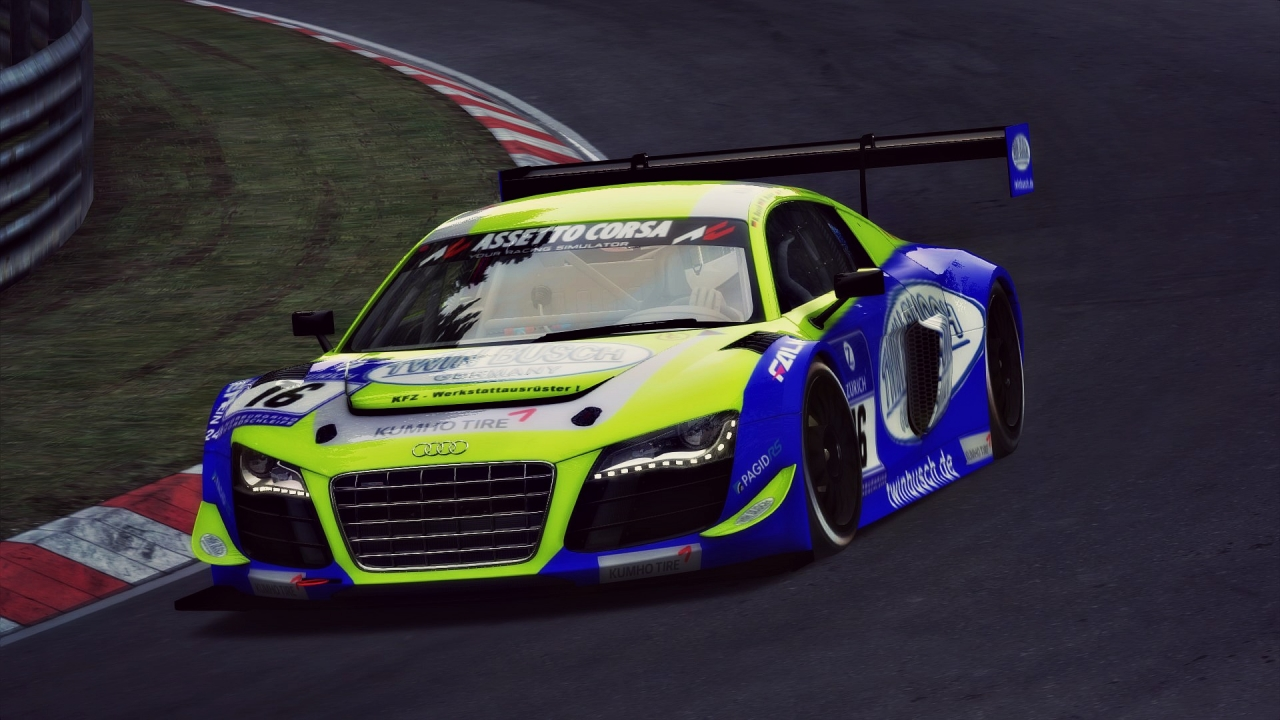 Twin Busch Audi for Assetto Corsa