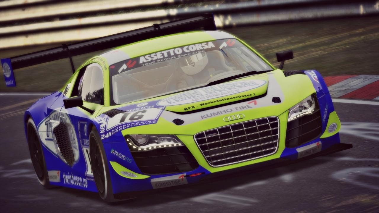 Twin Busch Audi for Assetto Corsa