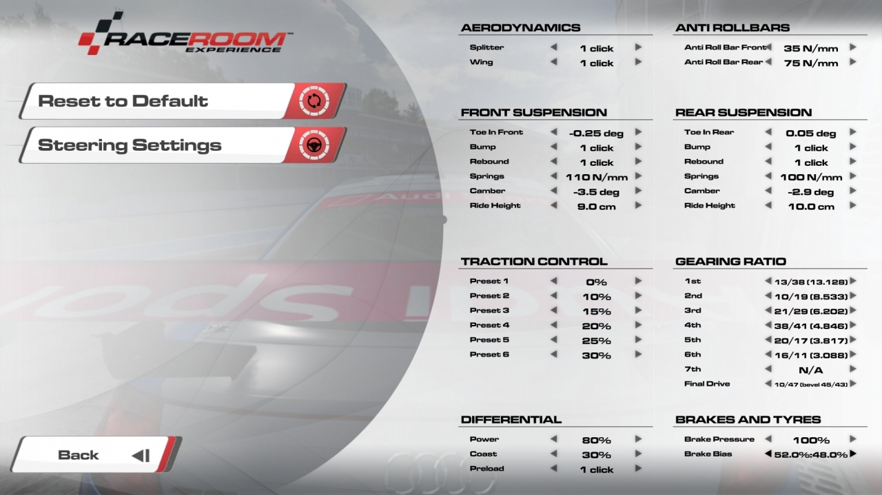 Audi TT - Monza GP