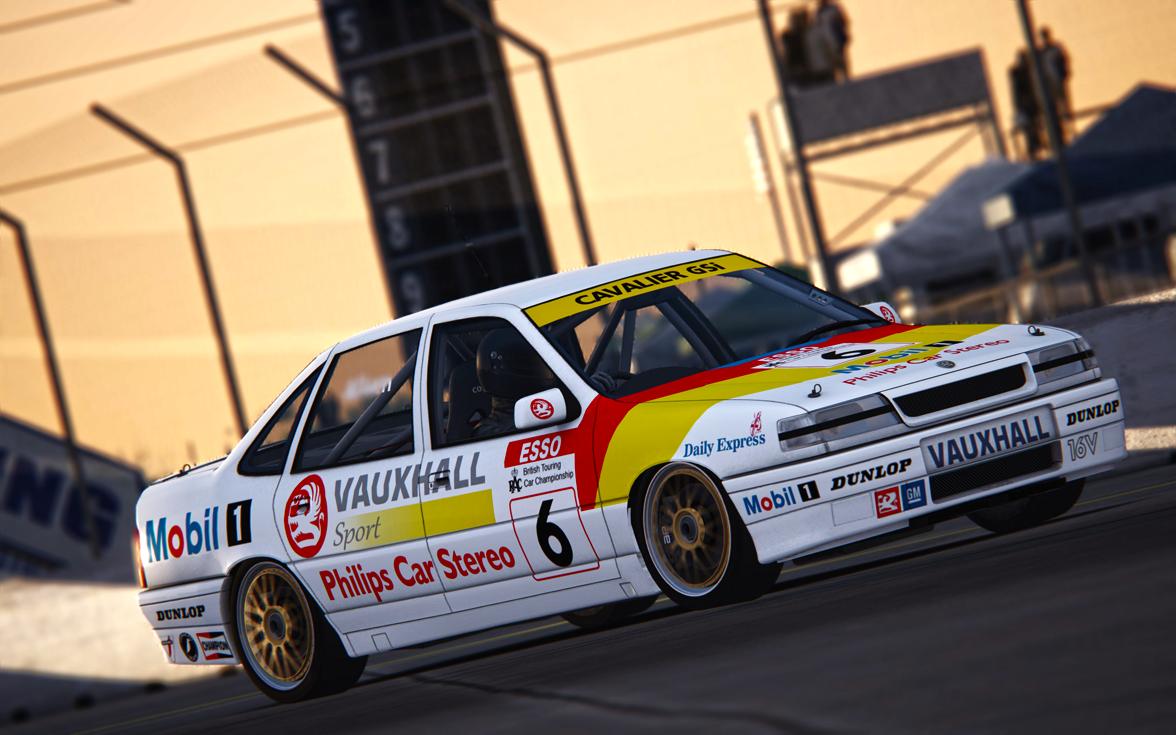 Assetto Corsa -  Vauxhall BTCC