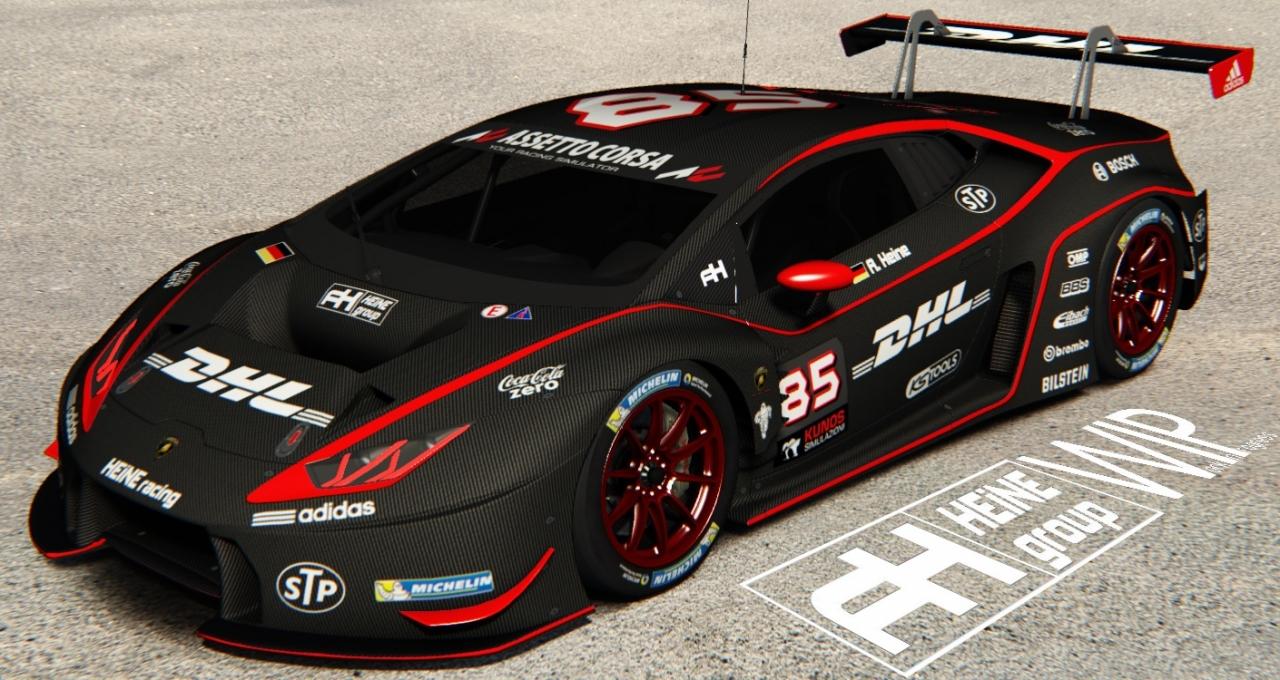 maate carbon DHL Huracan GT3