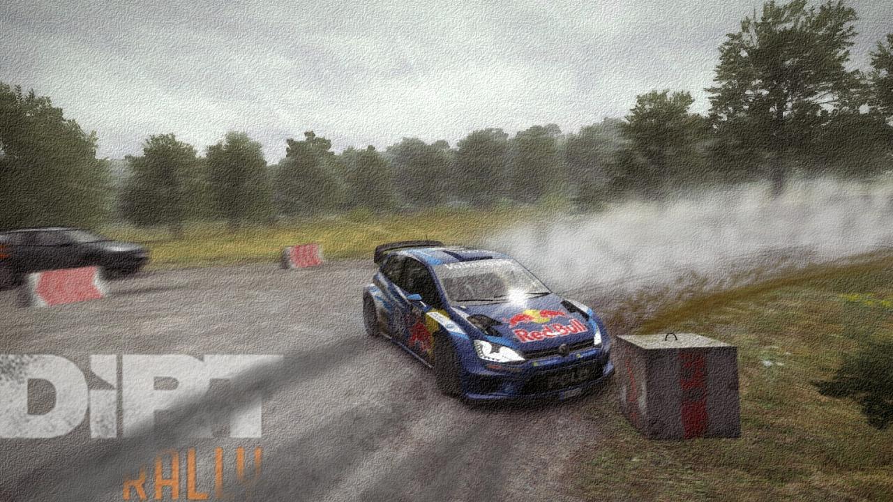 VW Polo Drift Artwork