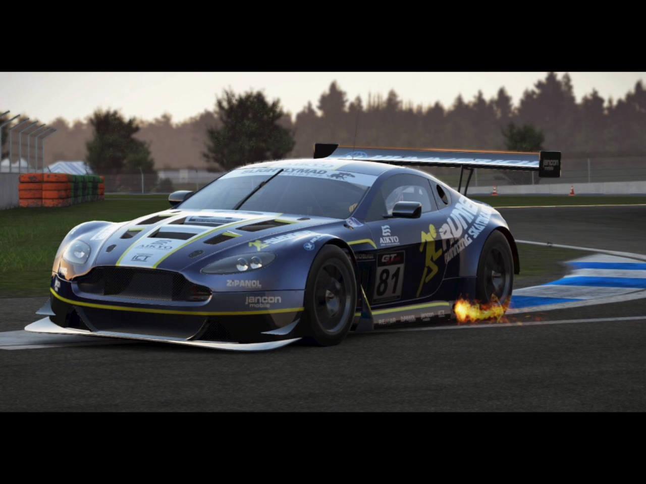 Aston Martin V12 Vantage GT3 at Hockenheim