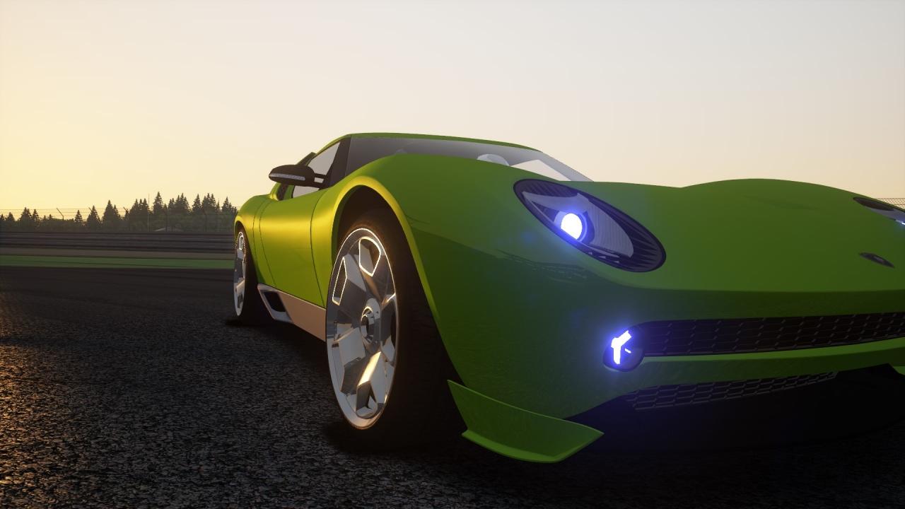 Lamborghini Miura Concept 2006.