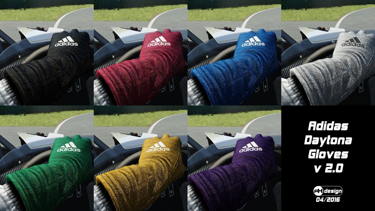Adidas Daytona gloves v2 ingame