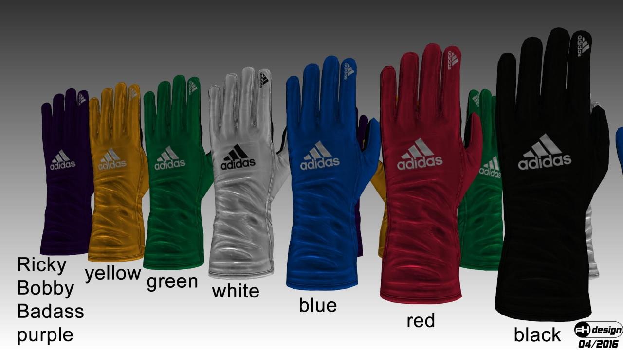Adidas Daytona gloves v2 render 1