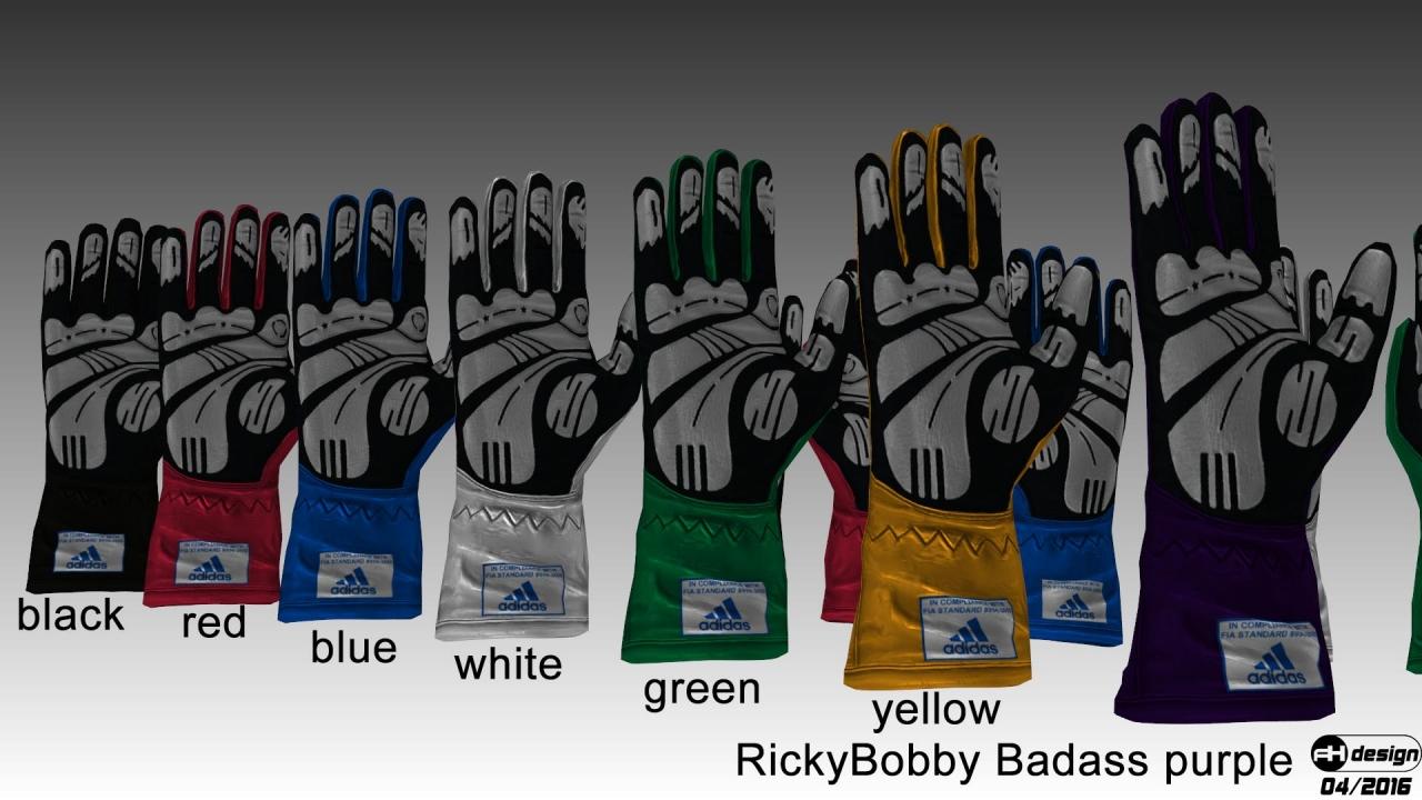 Adidas Daytona gloves v2 render 2