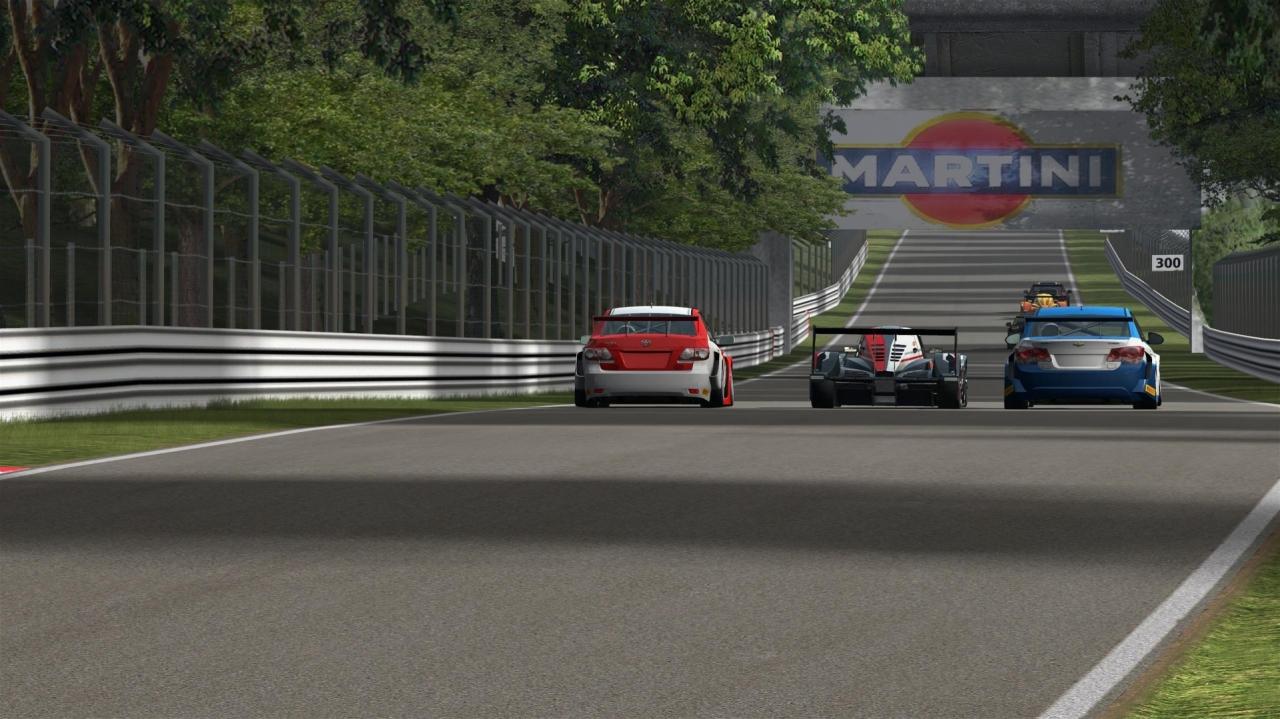 Multiclass race @ Monza