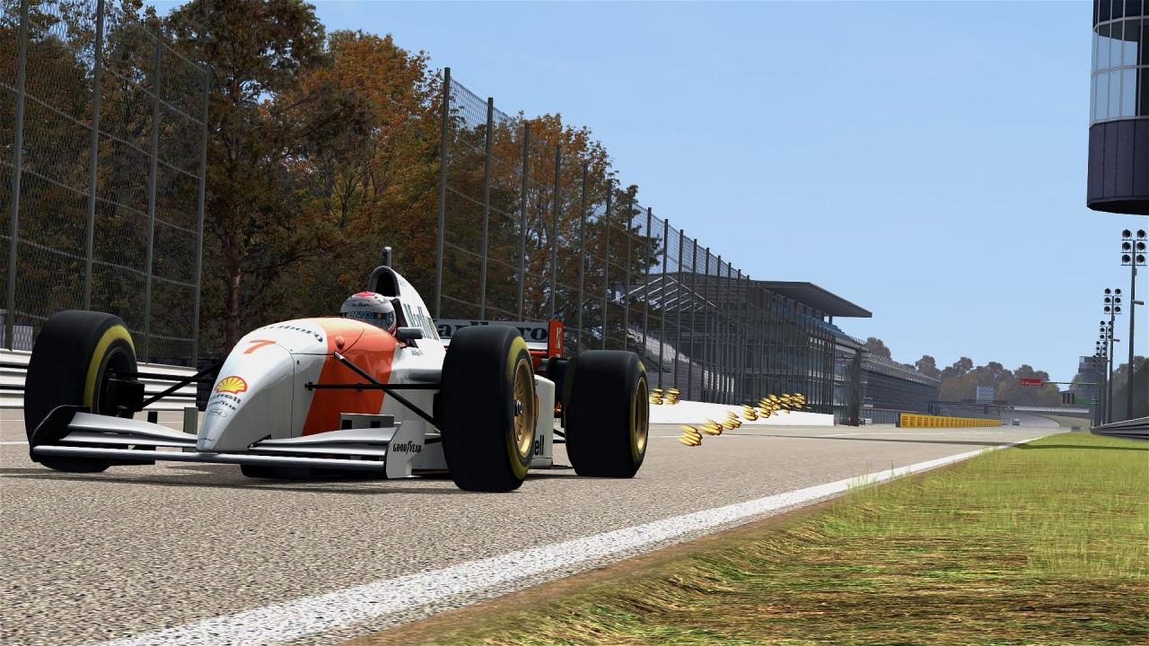 1993, Micheal Andretti McLaren - Formula V12 @Monza