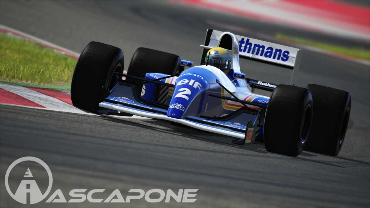 Williams FW14 - Ayerton Senna Rothmans Skin