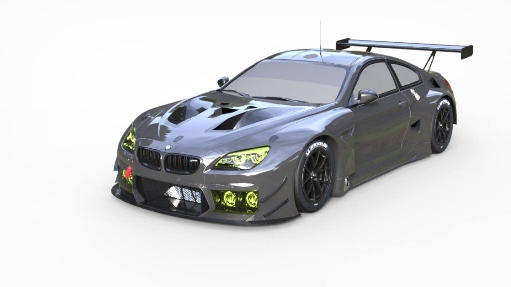 2016 bmw m6 gt3 - new renders