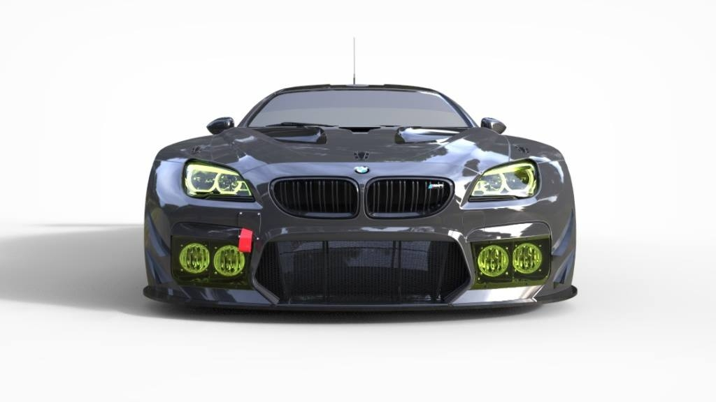 2016 bmw m6 gt3 - new renders