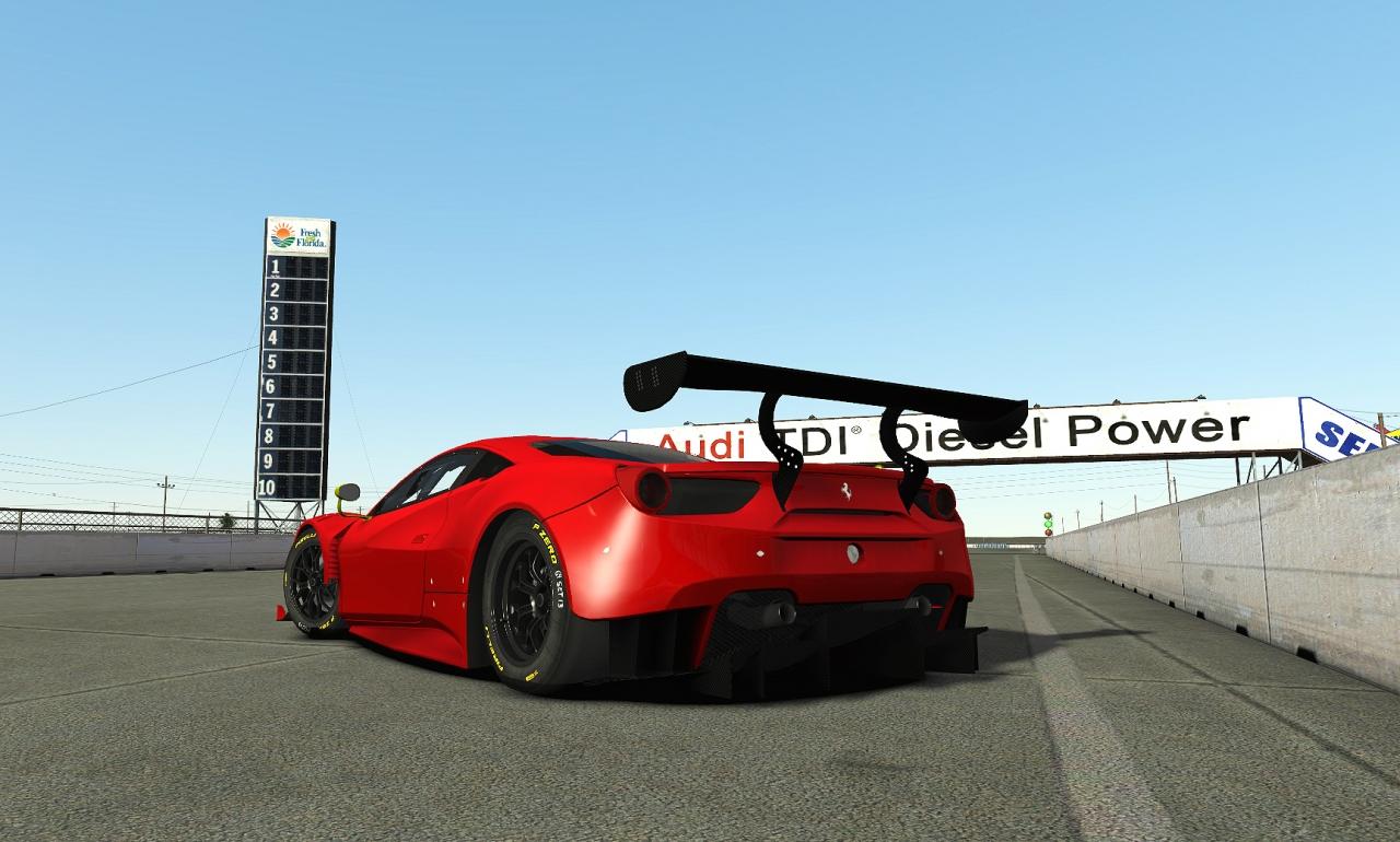 Ferrari 488 GT3 WIP
