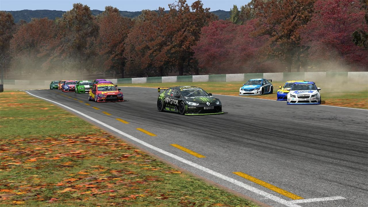 Marcas AI a little bit overmotivated @ Road Atlanta