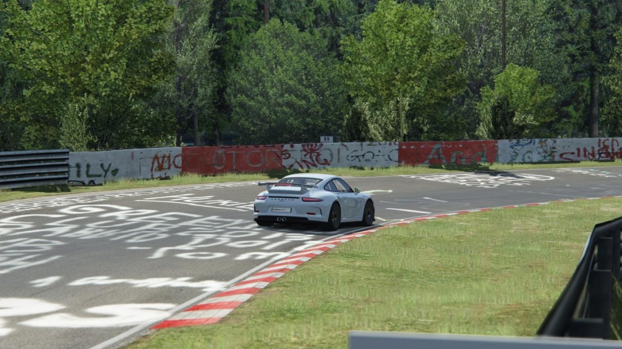 Porsche 911 GT3 at Nordschleife