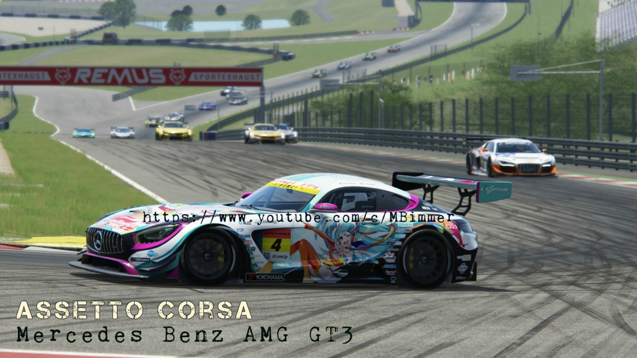 Mercedes AMG GT3 at Red Bull Ring