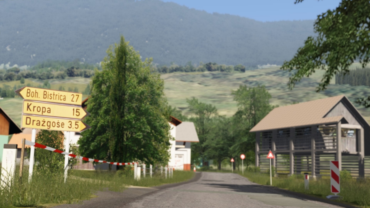 Assetto Corsa / Drazgose (Slovenia) / beta v0.7 coming soon