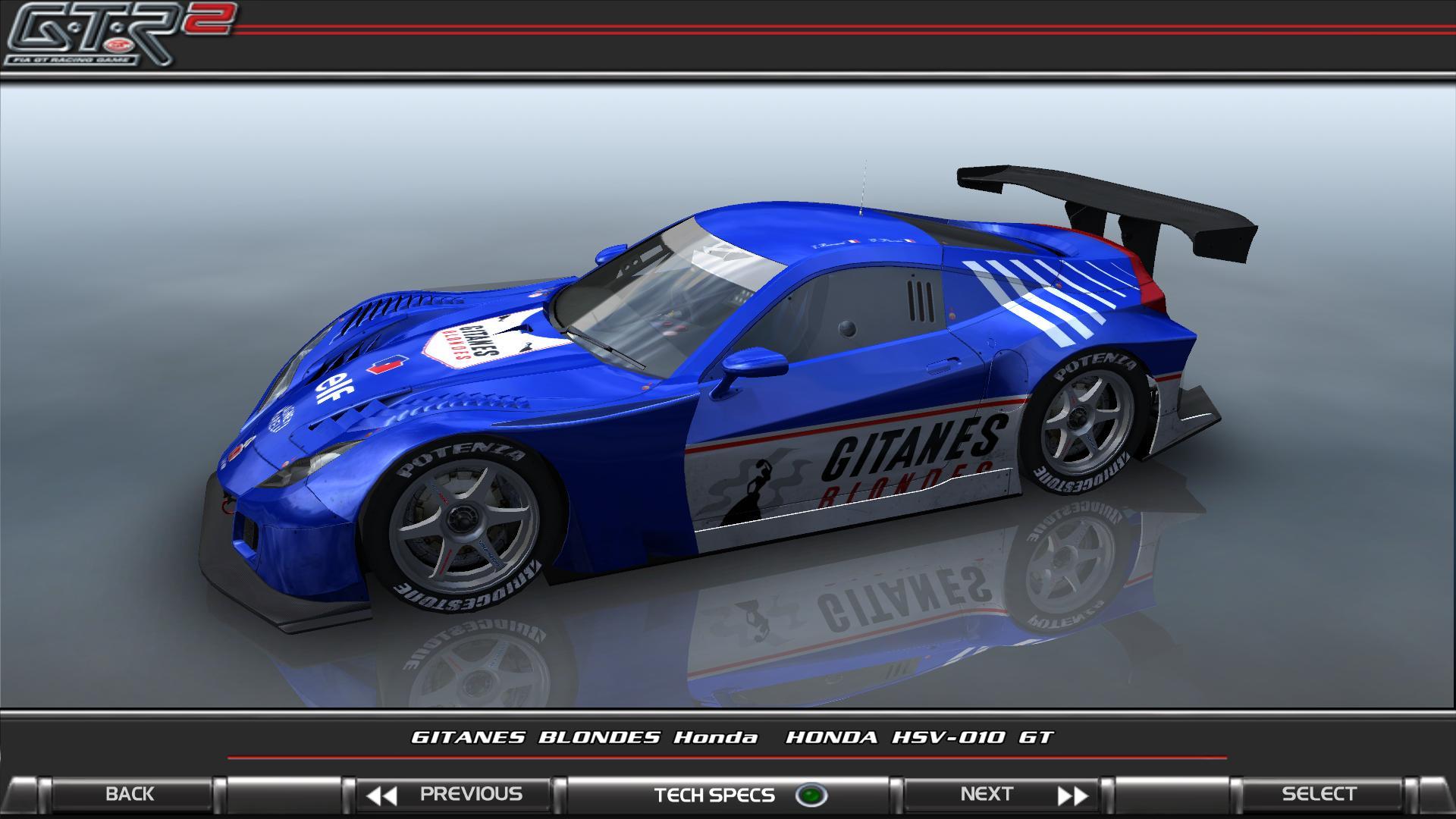 GTR2 - Gitanes Blondes Honda