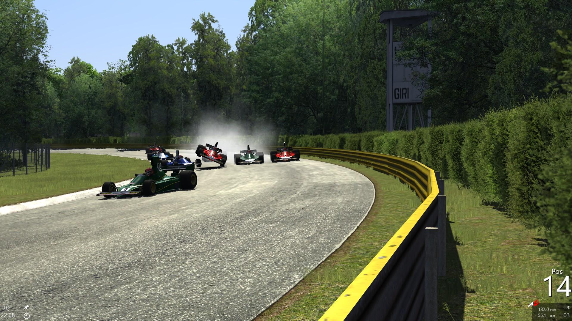 Proper Monza Action