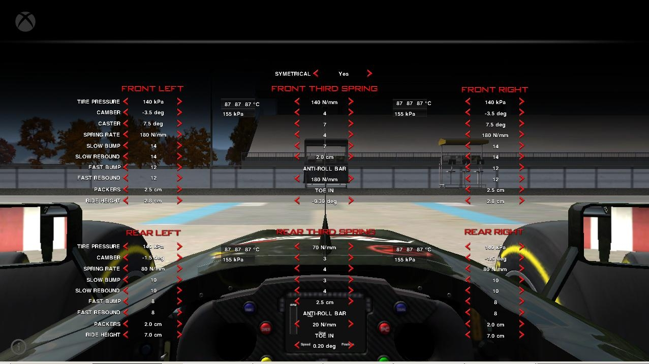 GUI for Automobilista